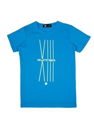 New Brand Tişört Mavi